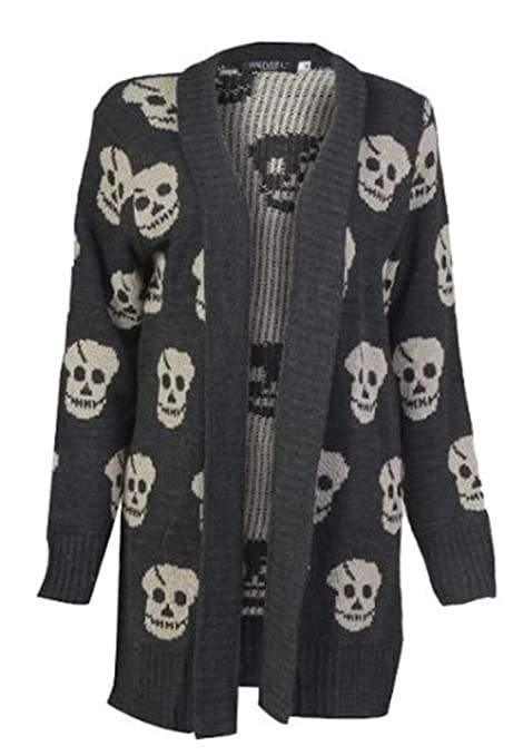 Charcol Skull Sweater