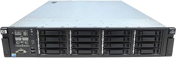 HP Proliant DL380 G6 Two Quad Core E5540 2.53GHz 24GB RAM P410i 2X72GB (Certified Refurbished)
