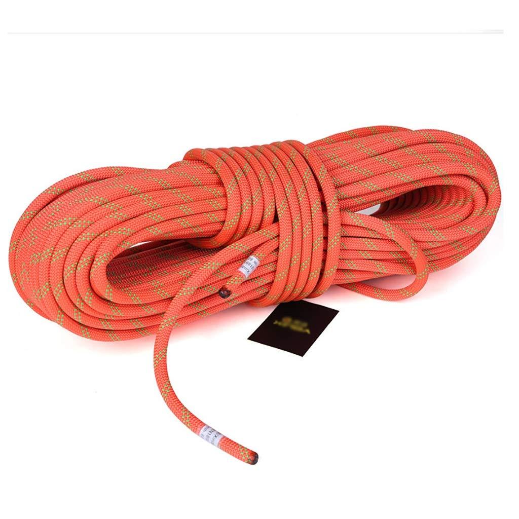 Diameter -11mm Corde Diamètre Orange de la d'escalade extérieure -10.5mm   11mm, Longueur -10m   20m   30m   40m   50m, de sécurité, de sécurité de Secours, Dupont à Haute résistance. 30m