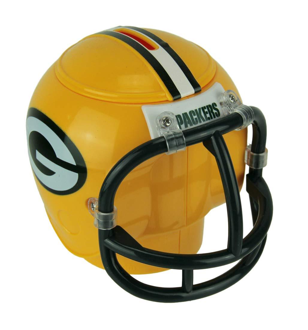 702bb69b Amazon.com: Green Bay Packers Mini Helmet Coin Bank: Toys & Games