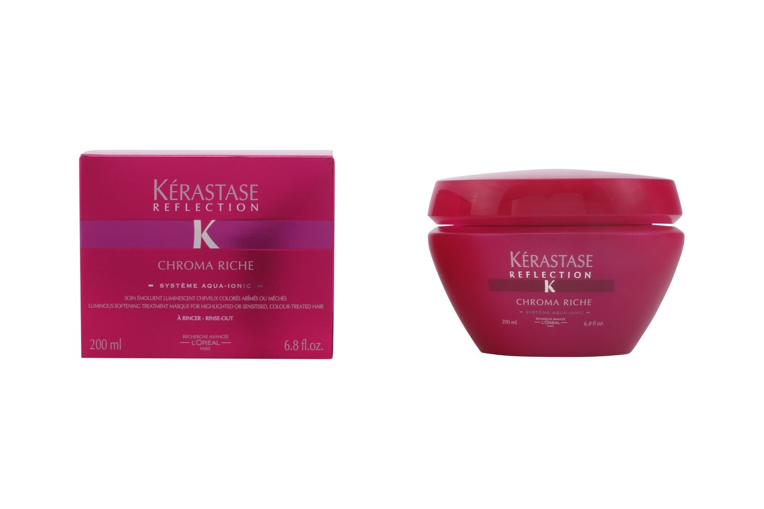 Kerastase Reflection Chroma Rich Masque for Color-treated Hair, 6.8 Ounce