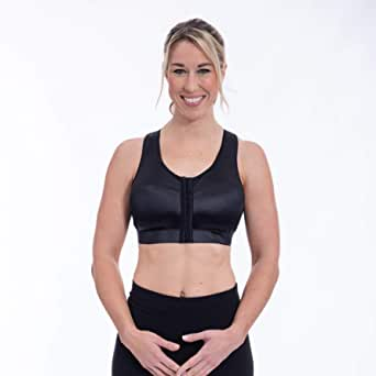 Enell Women's Racer Back Sports Bra Black