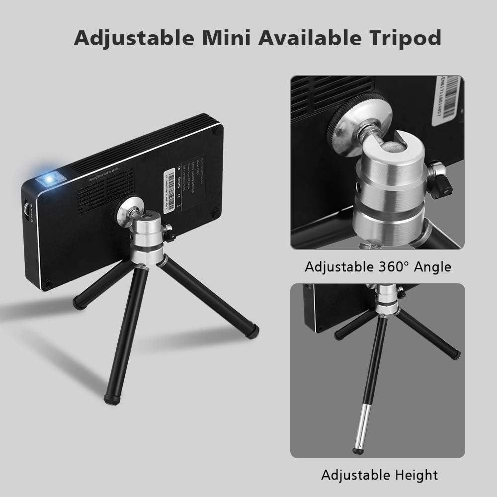 Yaufey Mini proyector DLP 150 lúmenes ANSI, cine en casa ...