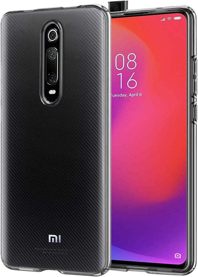 laxikoo Funda para Xiaomi Mi 9T /Xiaomi Mi 9T Pro, Funda Transparente Xiaomi Mi 9T Carcasa [Anti-Choque] Silicona Suave TPU Gel Bumper Case Cover para Xiaomi Mi 9T /9T Pro/Redmi K20 /K20 Pro