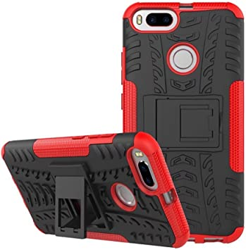 SMTR Xiaomi Mi A1 Funda, [Heavy Duty] Híbrida Rugged Armor Case ...