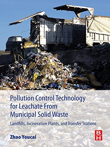 Pollution Control Technology for Leachate from Municipal Solid Waste: Landfills, incineration Plants, and Transfer Stations (Vapor Shafts)