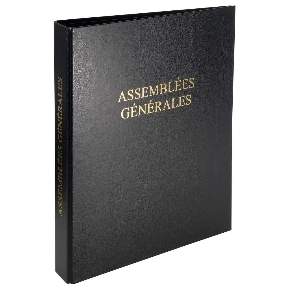 Rilegatura registro economique 32x 26cm 4anelli–Assemblees generali EXACOMPTA 44304