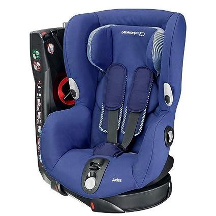 Bébé Confort Axiss Silla infantil giratoria para coche del grupo 1, ajuste extraseguro, reclinable, 9 meses - 4 años, 9 - 18 kg, azul (River Blue)