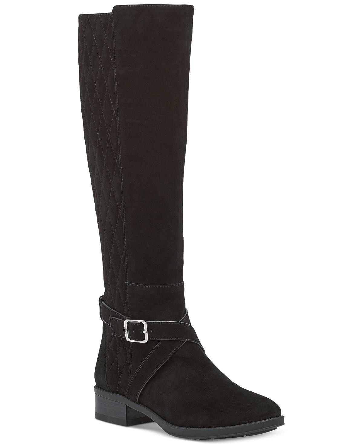 schwarz DKNY Frauen Mattie Knee higjh b b b Geschlossener Zeh Fashion Stiefel  authentische Qualität