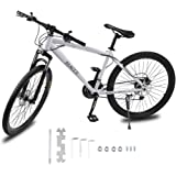 Homgrace Mountain Bike 21 Speeds Double Disc Brakes 26 Inch Variable Speed Road Bikes carbon steel