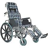 KosmoCare Recliner Light Premium Reclining Foldable Wheelchair with Aluminium Frame