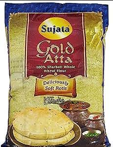 Amazon.com : Sujata GOLD Atta - 100% Sharbati Whole Wheat