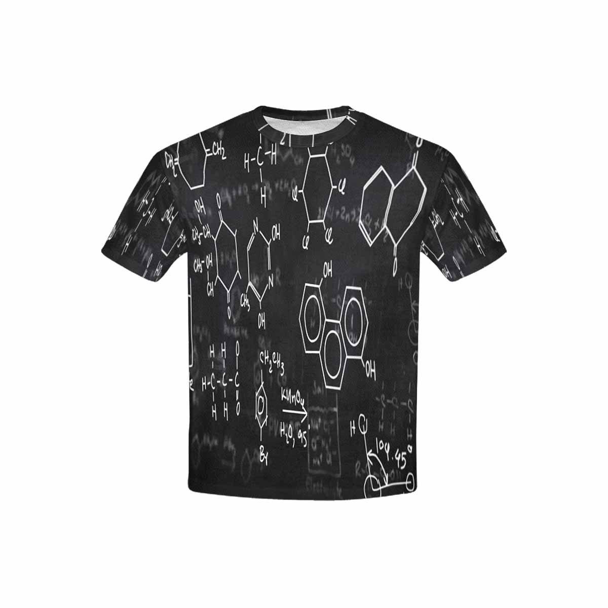 XS-XL INTERESTPRINT Youth T-Shirts Chemical Formulas
