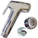 SUCASA Handheld Bidet Health Faucet Toilet Wash Jet Spray Shower Head Douche Shatta Chrome Valve Bathroom Sprayer