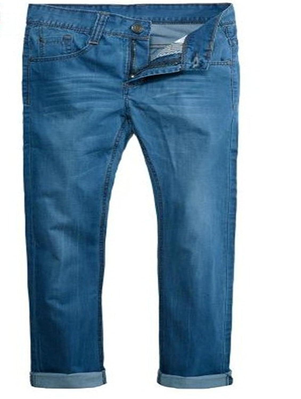 U-SHARK New Men?è—Ÿs Straight Leg Regular Fit 100% Cotton Denim Jeans Trousers?KZ29