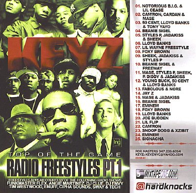 Top Of The Game: Best Radio Freestyles Part 1 [Mixtape] (Best Of Jay Z Mixtape)