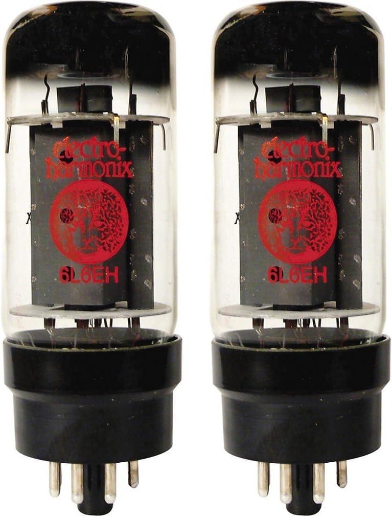 Electro-Harmonix 6L6EHPower Vacuum Tube, Platinum Matched Pair