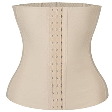 62afa004cd4 SAYFUT Waist Training Underbust Steel Boned Workout Corset Girdle Waspie  Shaper