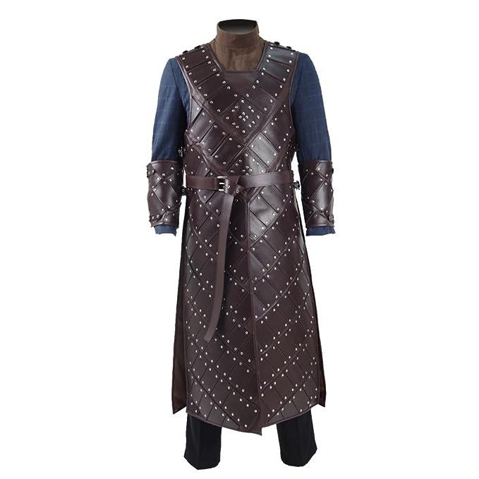 Amazon.com: ggaammee Tronos Nieve disfraz de cosplay ...