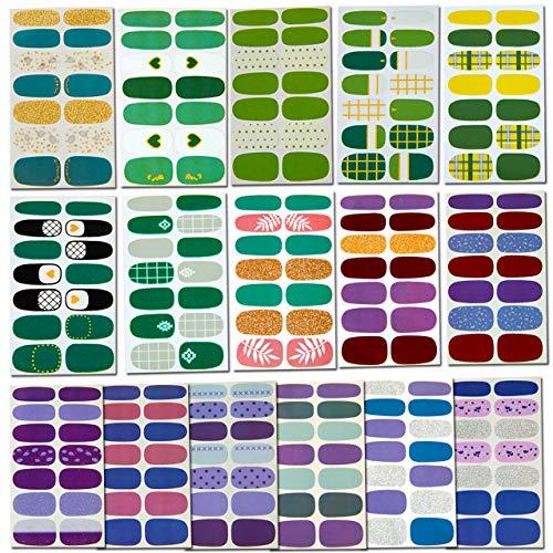 16 Sheets Nail Wraps