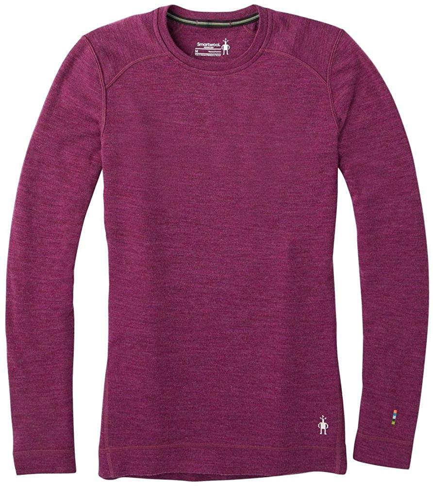 Smartwool Women's Base Layer Crew - Merino Wool 250 Long Sleeve Crew Neck Top