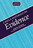 Cases and Materials on Evidence, Simon Cooper and Peter Murphy, 1854316389