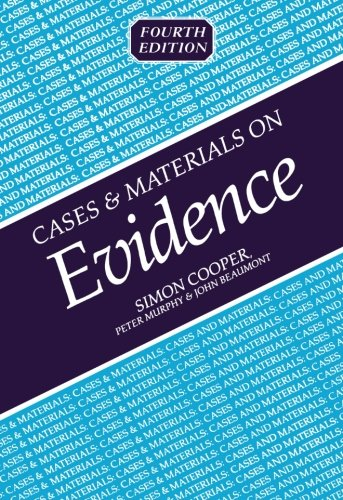 Cases And Materials On Evidence (Cases & Materials)