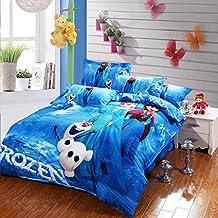 Frozen Bedding Set Disney Bed Set Teen Frozen Comforter Set 5pcs 100% Cotton
