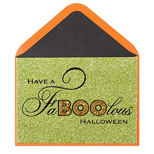 Glamour Greeting Card Halloween 2019 Have A FaBOOlous Halloween Hope Your Fright Night Scary Good Card For Halloween Party -