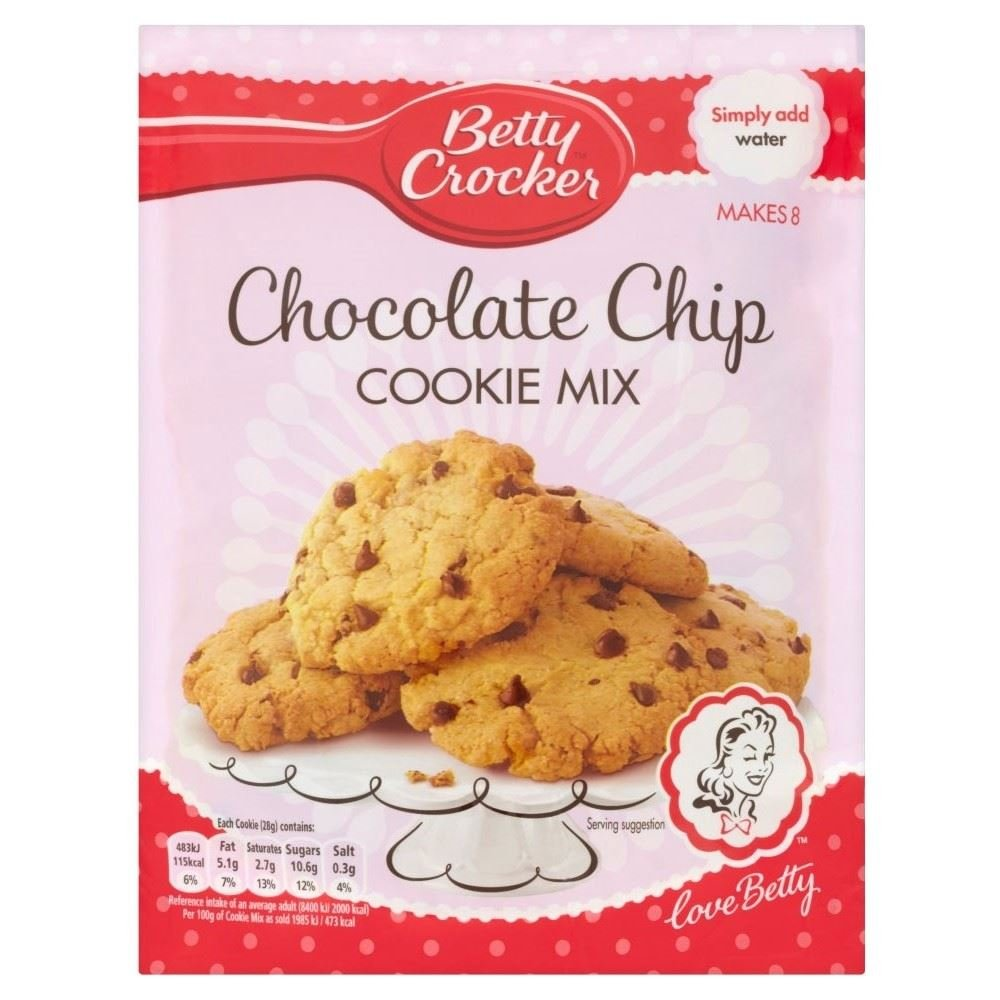 Betty Crocker Chocolate Chip Cookie Mix (200g) - Pack of 2 by Betty Crocker
