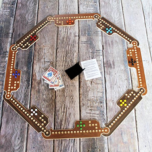 Jokers and Marbles Game (Brown, 4-8 Player) ()
