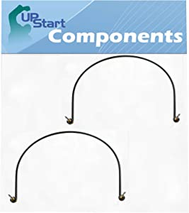 2-Pack W10518394 Dishwasher Heating Element Replacement for Kenmore/Sears 665.13044K113 - Compatible with W10134009 Heater Element