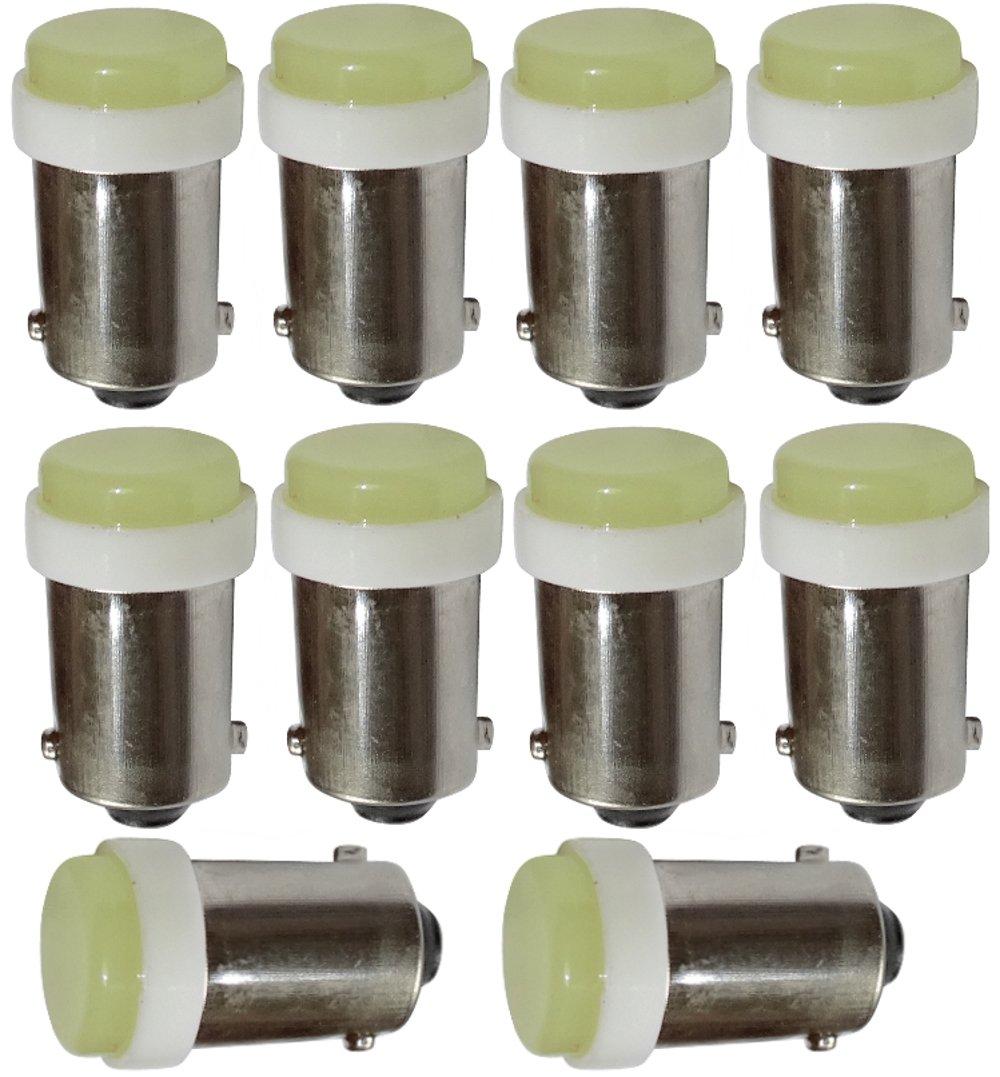 10x Ampoules T4W T5W BA9s 12V LED Blanc Effet x/énon /éclairage int/érieur Plaque dimmatriculation seuils de Porte plafonnier Pieds Lecteur de Carte Coffre Compartiment Moteur AERZETIX