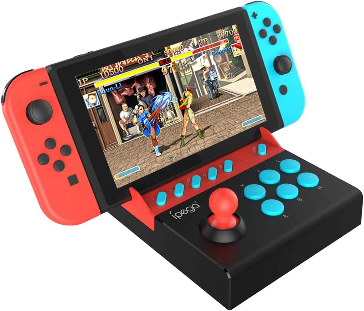 PG-9136 Gamepad Trigger Controller Mobile Joystick Compatible N-Switch Console Single Rocker Control Games (Such as Mario Series, Stree Fighter2, etc.)