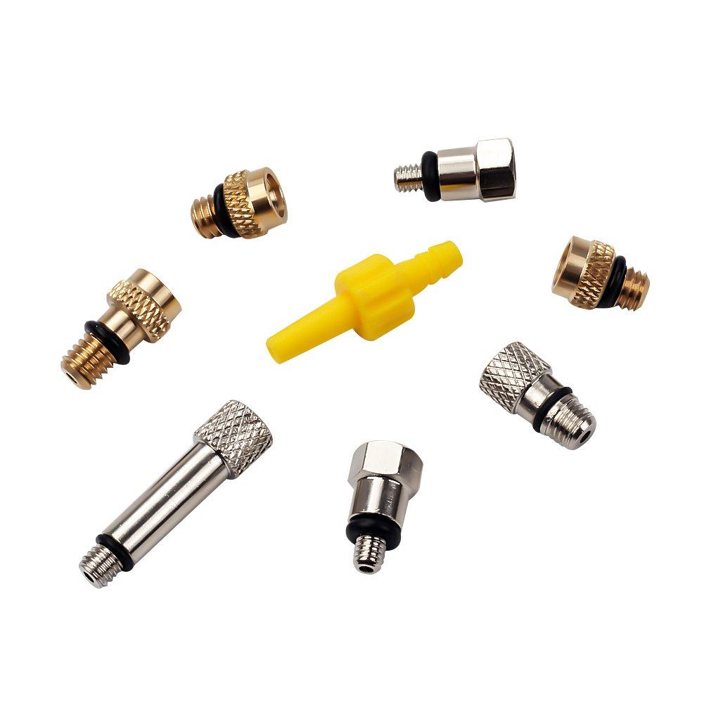 BIKEIN Master Hydraulic Disc Brake Bleeding Tool Kit For Mineral Oil & DOT Brake System MTB Repair Tools For SHIMANO MAGURA TEKTRO BENGAL ECHO AVID by BIKEIN (Image #3)