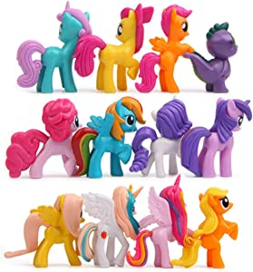 My Little Pony Toys of 12 Action Figure , Great for Play or Collecting .