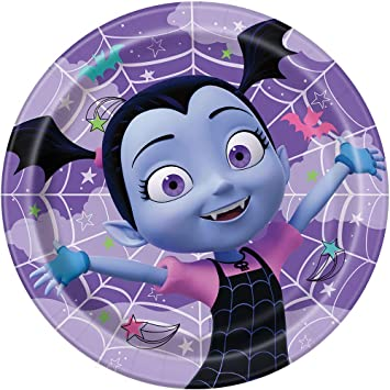 Unique Industries Disney Vampirina 9 Inch Luncheon Plates ...