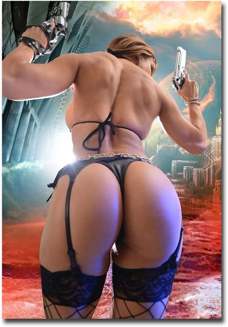 """Nice Sexy Ass Guns Refrigerator Magnet Size 2.5"""" x 3.5"""""""