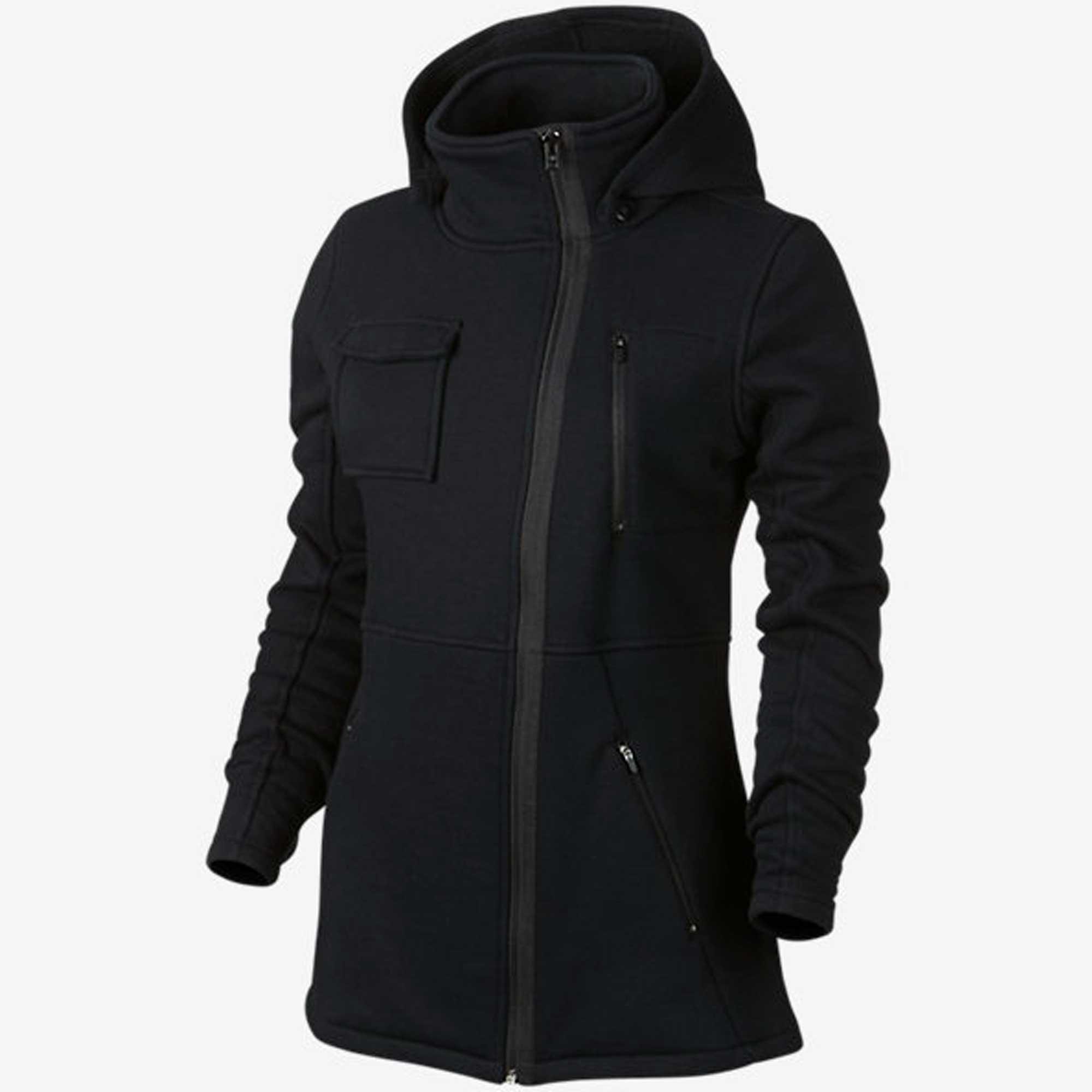 Hurley Women's Winchester Fleece Black 1 Outerwear MD (US 7-9)