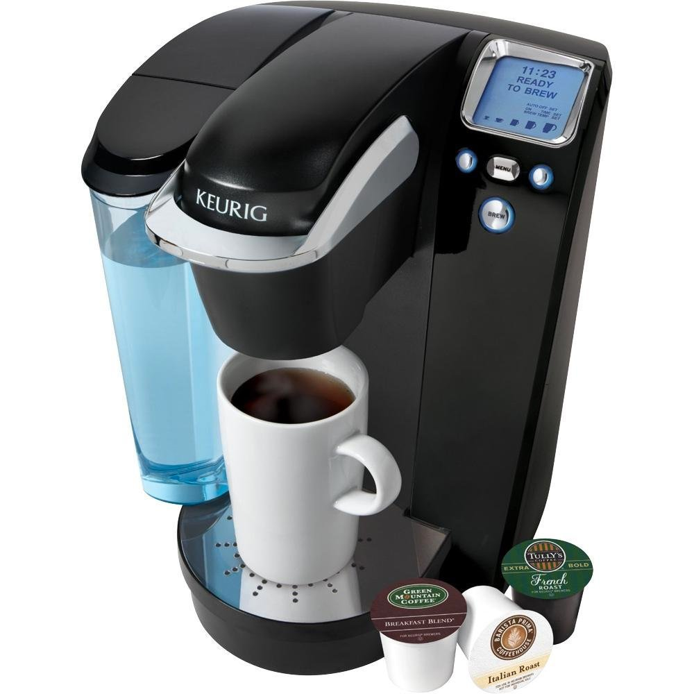 Amazon.com: Keurig K75 Platinum Single-Cup Home-Brewing System with Water  Filter Kit, One Size, Silver/Platinum: Single Serve Brewing Machines:  Kitchen & ...