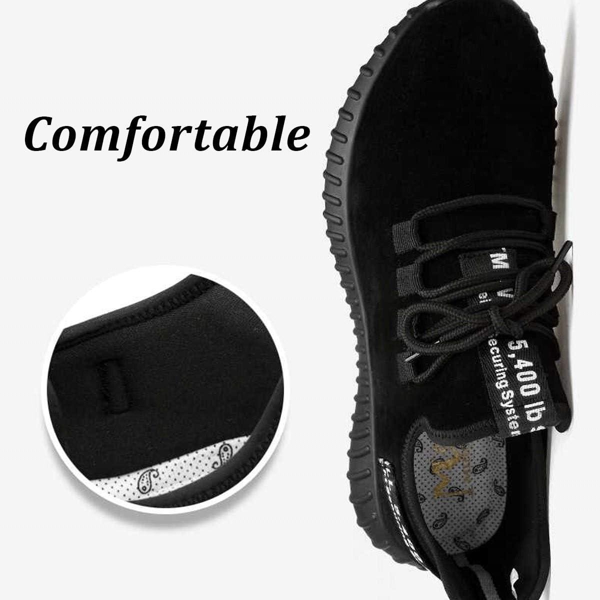 punta de acero protecci/ón ligera Chnhira Zapatos de seguridad para hombre zapatillas de trabajo unisex