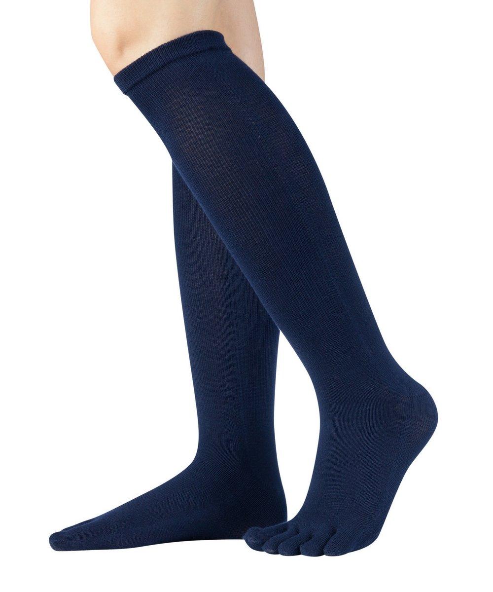 por debajo de la rodilla 81/% Knitido Essentials gris antracita y violeta para hombre y mujer Calcetines Cl/ásicos en algod/ón negro
