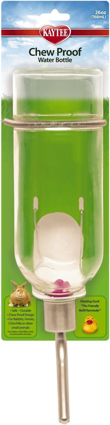 26-Ounce Kaytee Chew-Proof Water Bottle