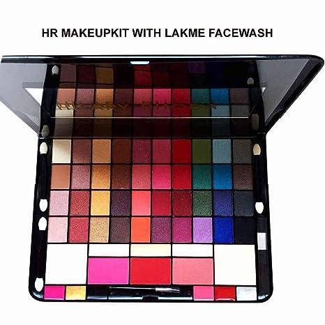 Lakme Absolute Perfect Radiance Skin Lightening Facewash With Hr Makeup Kit Dazzling Eyeshadows Contour