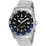 Invicta Men's Pro Diver Quartz Watch with Stainless-Steel Strap, Silver, 22 (Model: 25821)