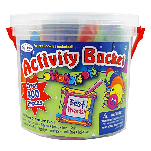 ArtSkills Activity Bucket, 404 Count - Supplies Craft