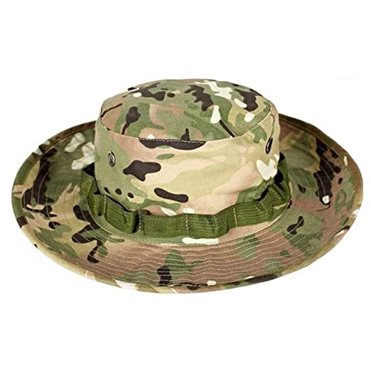 ba1c2e410b251 Image Unavailable. Image not available for. Color  HEWPASKE Airsoft Sniper  Camouflage Nude Bucket Hats ...