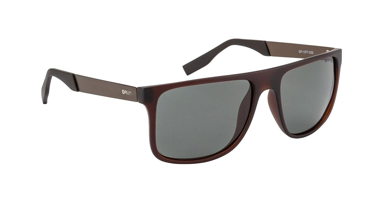 9a88c7aba7 Opium Rectangular Polarized Sunglasses (OP-1377-C02)  Amazon.in  Clothing    Accessories