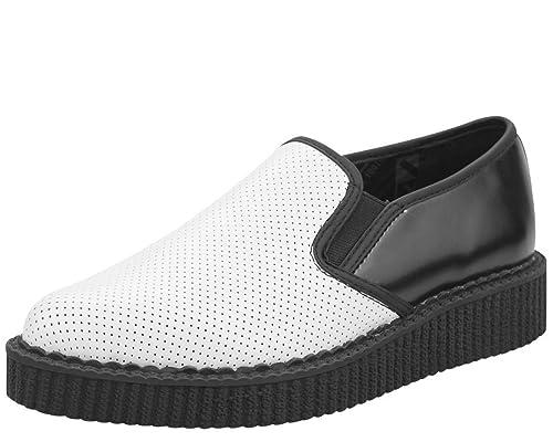 f05ed3674033a4 T.U.K. Shoes A8893 Unisex-Adult Creepers