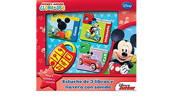 MI CAJA CON LLAVERO MMCH KKB: Mickey: 9781503707580: Amazon ...
